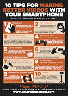 10 tips to improve your mobile videos – Mobile Journalism PDF