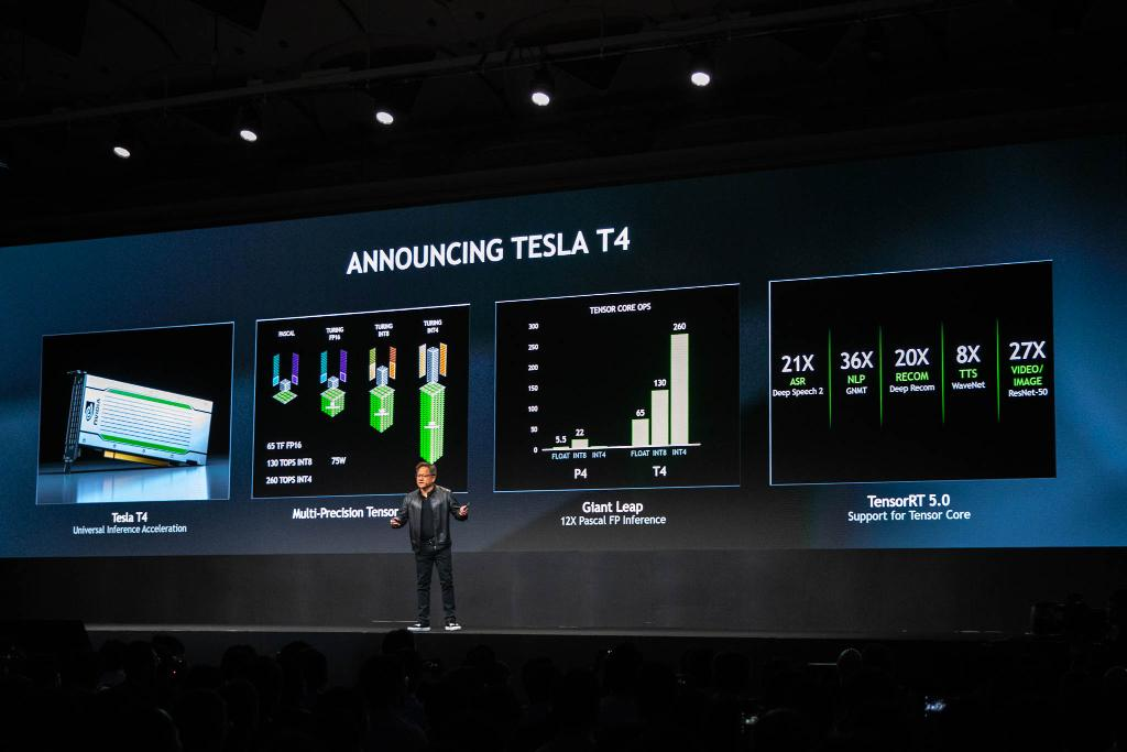 NVIDIA Mengumumkan Tesla T4