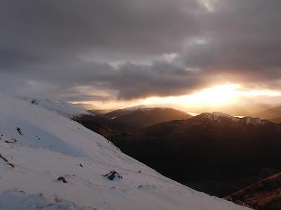 Ben Nevis, winter