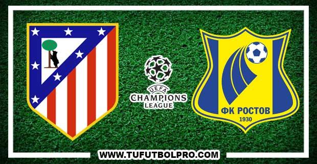 Ver Atlético Madrid vs Rostov EN VIVO Por Internet Hoy 1 de Noviembre 2016