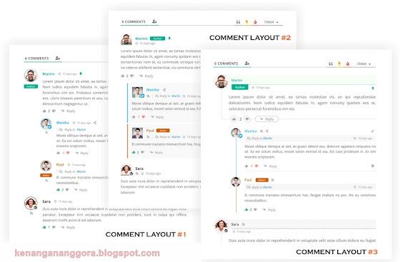 Cara Mempercantik Komentar Wordpress