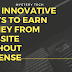 Five Innovative Ways To Earn Money From Website Without Adsense