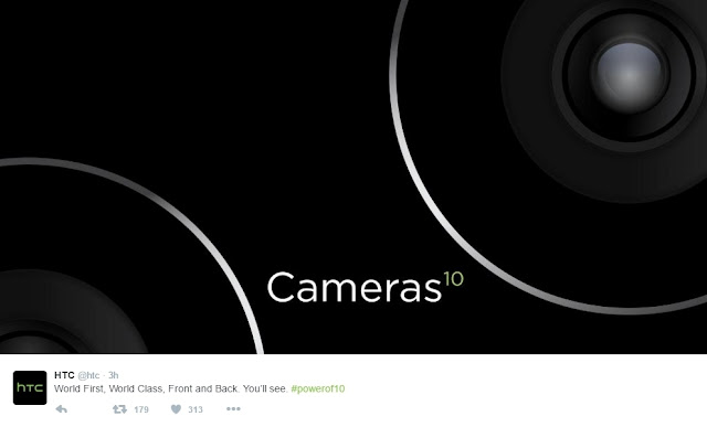 dual kamera htc one m10