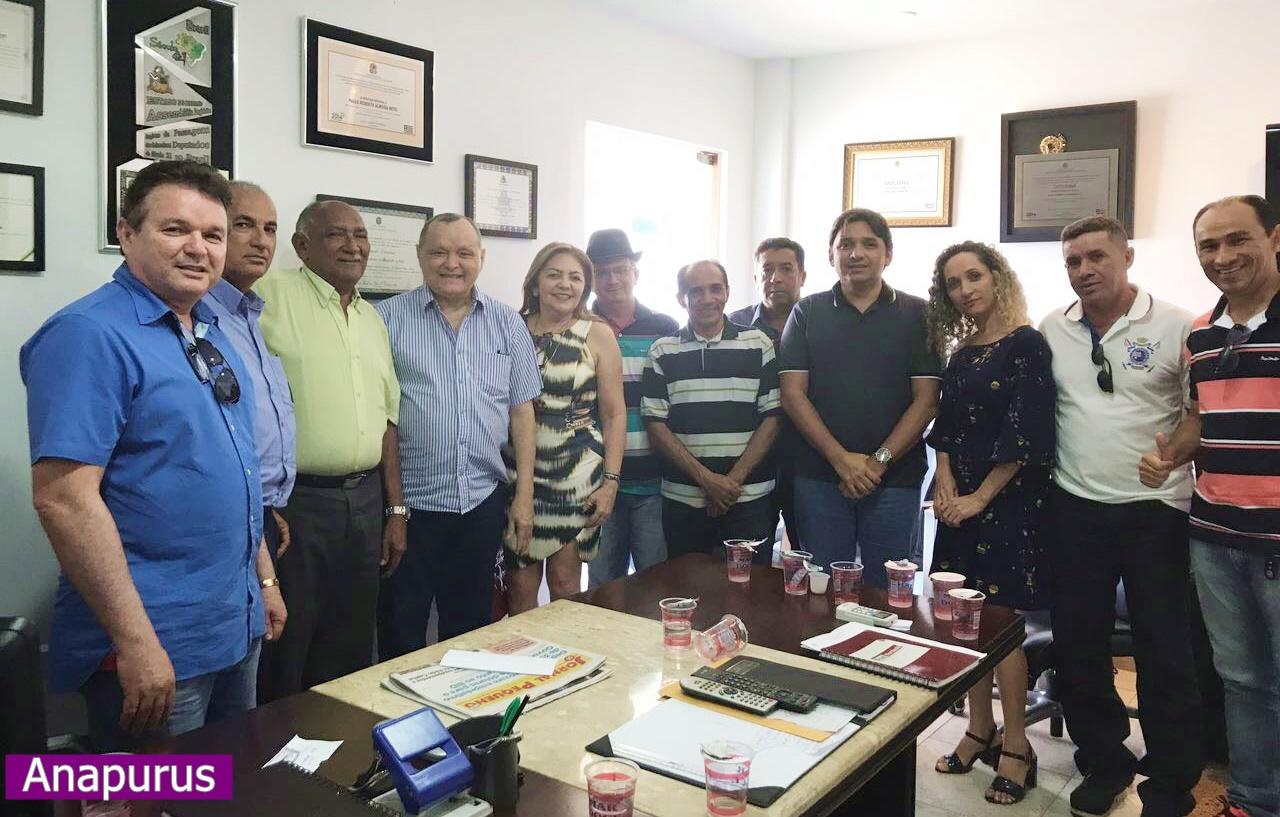 Anapurus: Grupo Tina Monteles e Julio César declaram apoio ao deputado Paulo Neto.