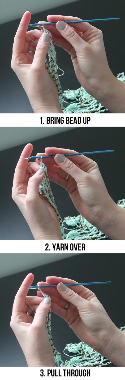 Beaded crochet tutorial