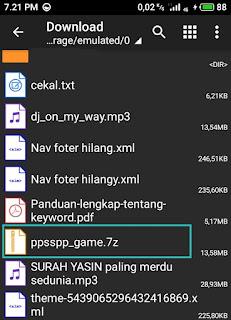 cara mengekstrak file menggunakan zarchiver