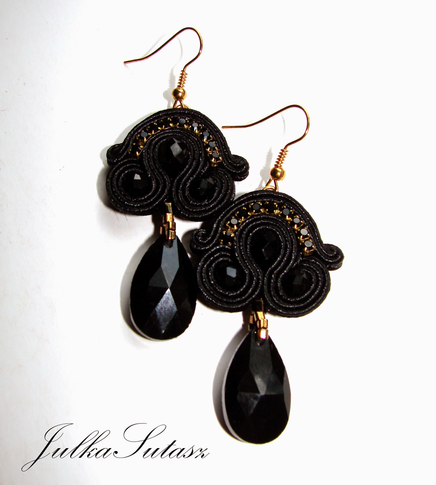 *Little black dress* Earrings   Polskie Rkodzieo