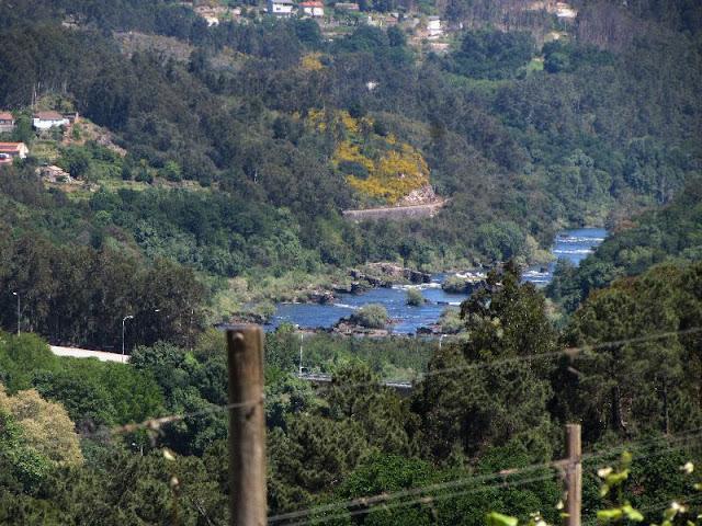 vista do rio Minho em Melgaço