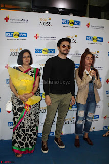 Piaa Bajpai launches TB Awareness Campaign with Darshan Kumaar 26.JPG