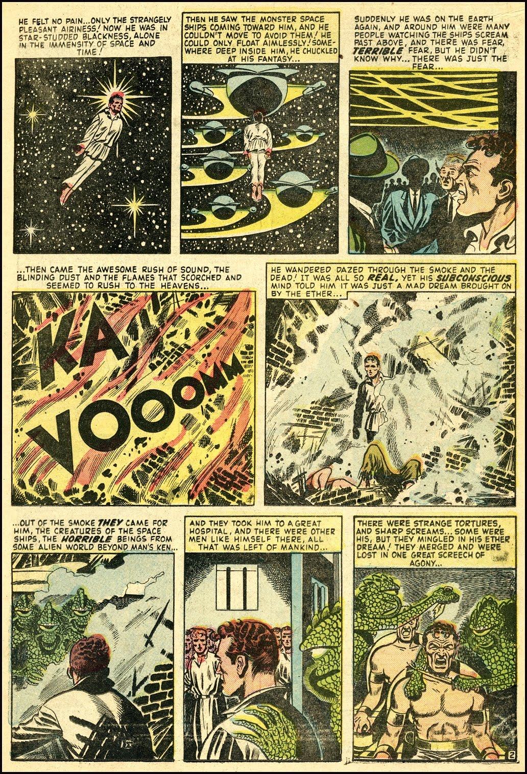 Read online Adventures into Weird Worlds comic -  Issue #25 - 15