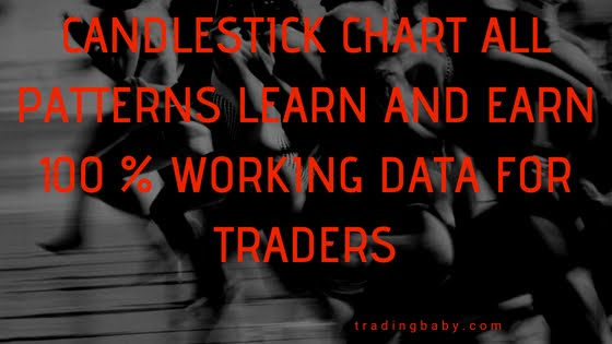 candlestick chart patterns learn and earn 100 % working data for traders