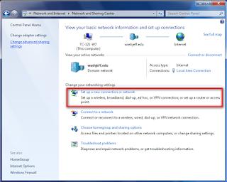 Cara Menyeting VPN Pada Windows Windows 7  Dan Vista