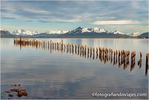 Puerto Natales en patagonia chilena