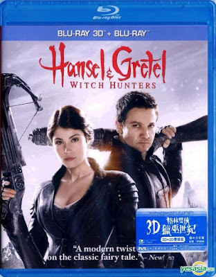 Hansel & Gretel: Witch Hunters 2013 Dual Audio Hindi Eng BRRip 480p 300mb