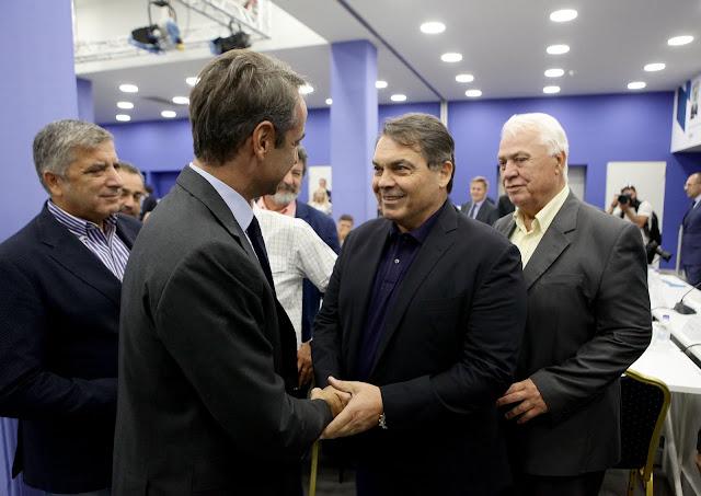 Ο Δημήτρης Καμπόσος επισκέφθηκε τα γραφεία της Νέας Δημοκρατίας