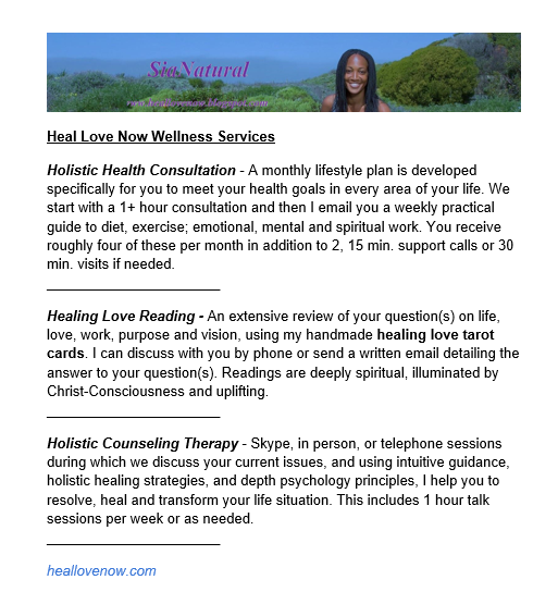 Free Your Mind: Holistic Health Consultations