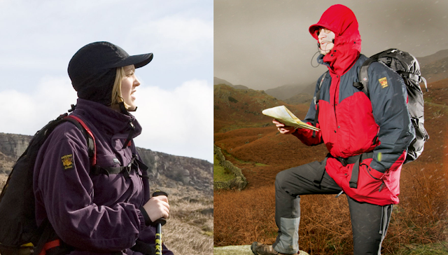 Paramo jackets - available at the Complete Outdoors store, just North of London