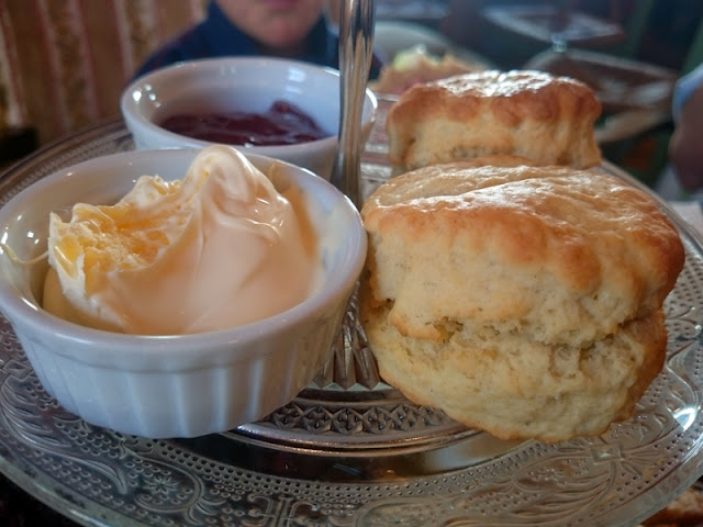 scones at talk of tea brighton