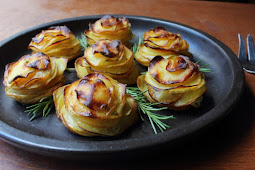 Potato Roses – A Side Dish That's Stacked