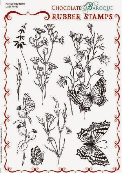 http://www.chocolatebaroque.com/Harebell-Butterfly-Unmounted-Rubber-stamp-sheet--A5_p_6120.html