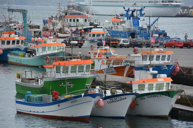 Ponta Delgada fisher boat