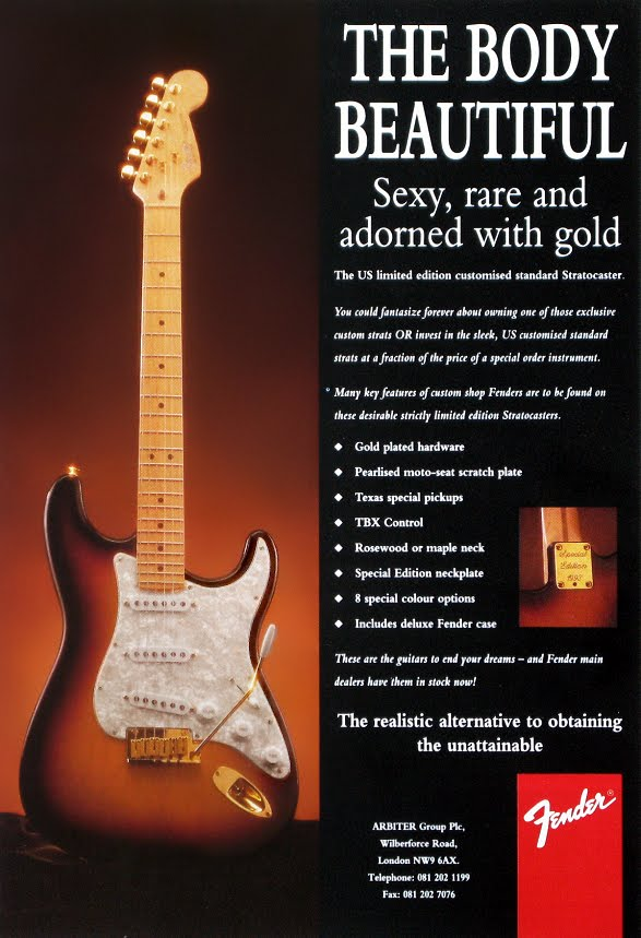 Fender 1993 USA Limited Edition Stratocaster | Planet Botch
