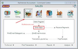 Cara mencatat transaksi penjualan jasa di myob ~ Komputer akuntansi