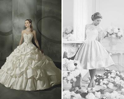 per un cambio d'abito matrimoniale perfetto