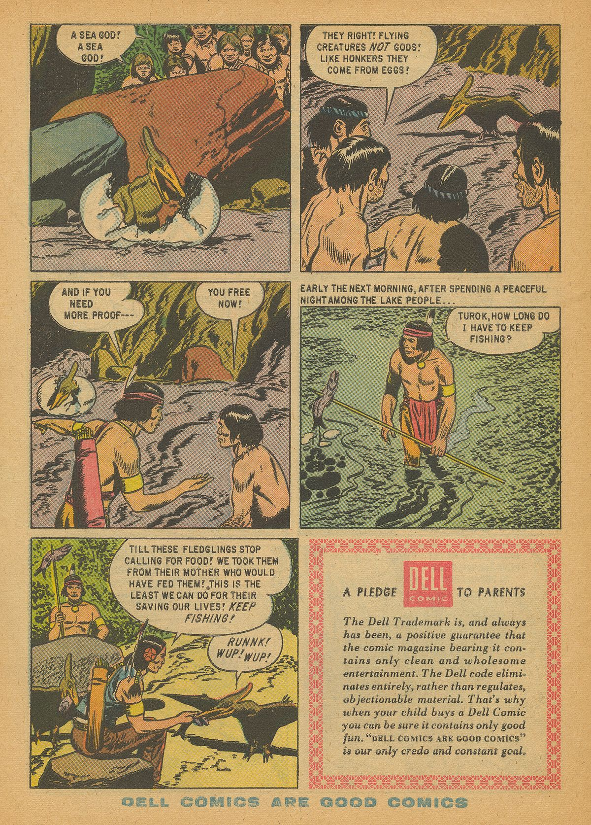 Read online Turok, Son of Stone comic -  Issue #14 - 34