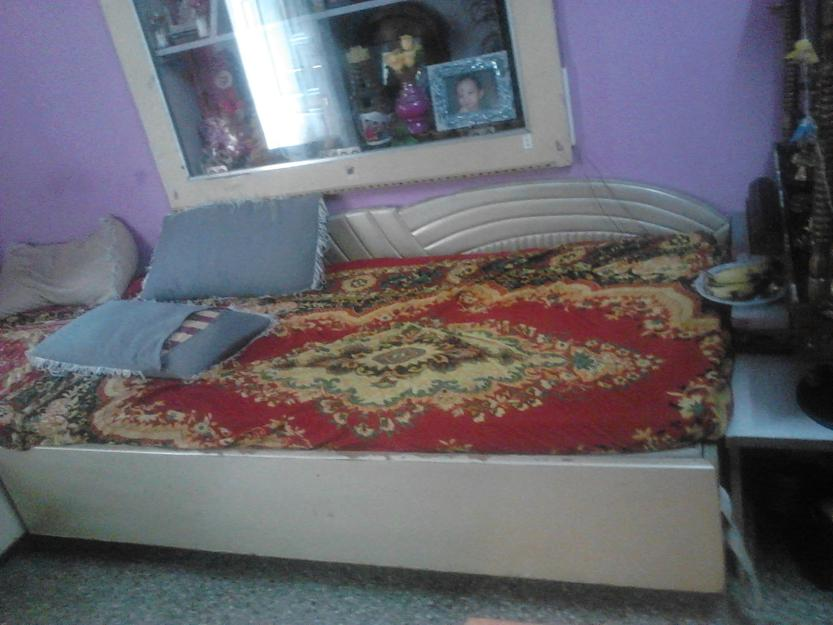 Double Bed For Sell: Double bed with storage box 6x6 ...