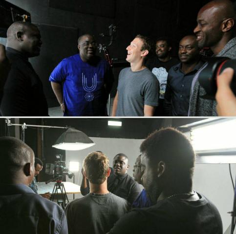 """Mark Zuckerberg Met Nigeria Rapper """"ILLBLiss"""" During A Music Video Shoot"""