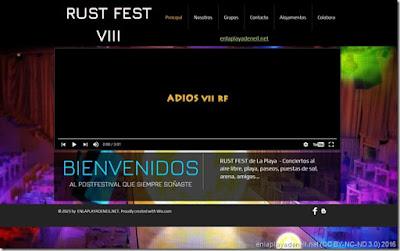 El VIII RUST FEST 2