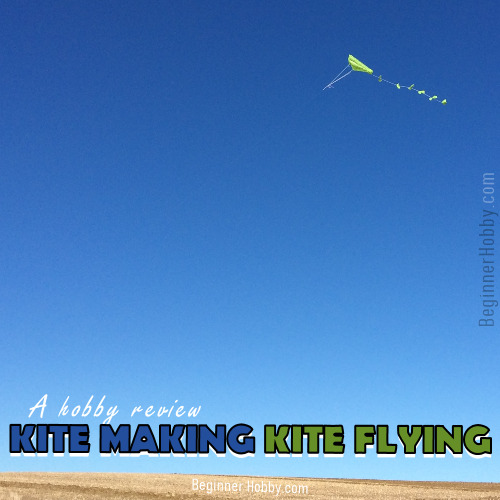 An image of a kite flying