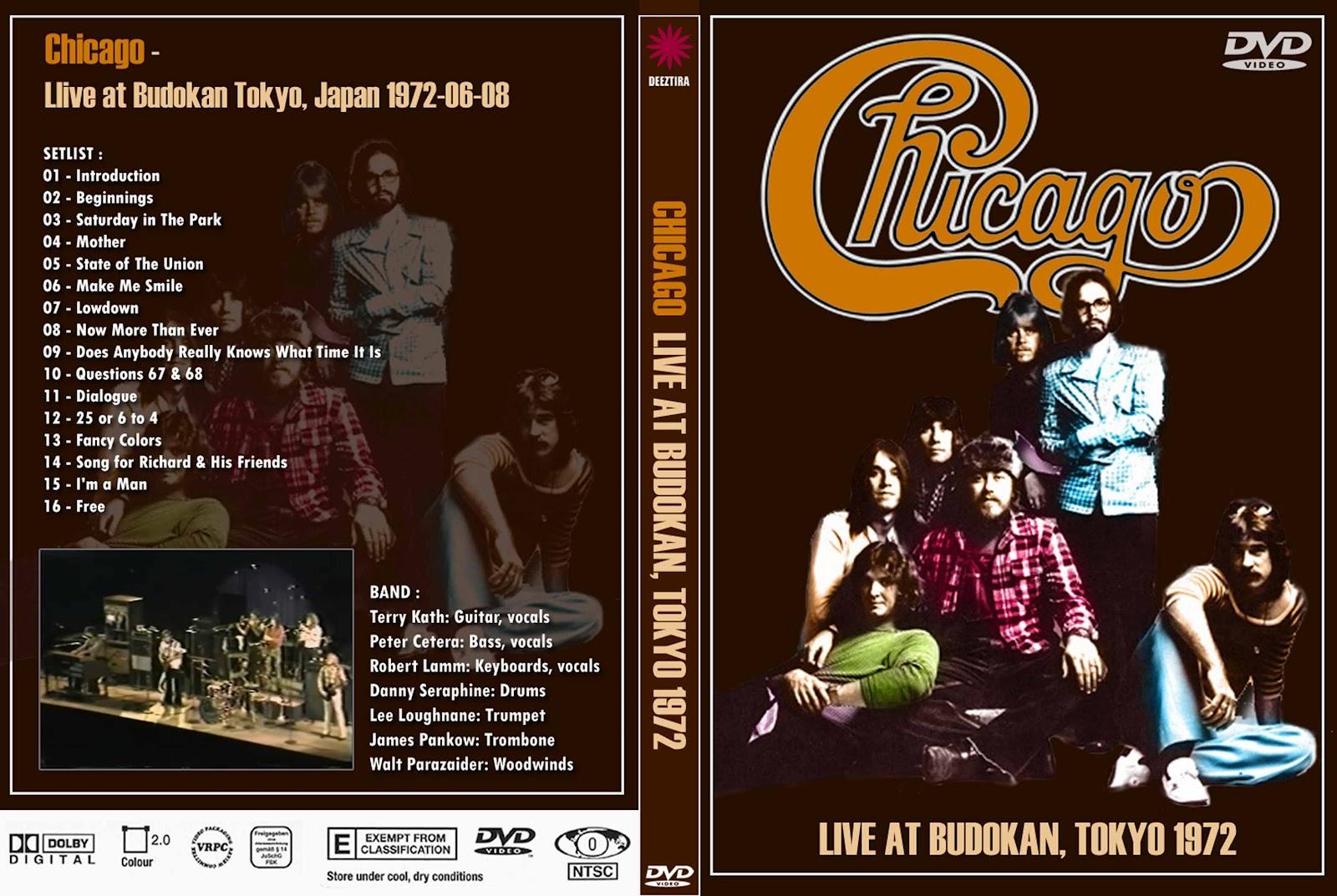 Youdiscoll Chicago Live At Budokan 1972