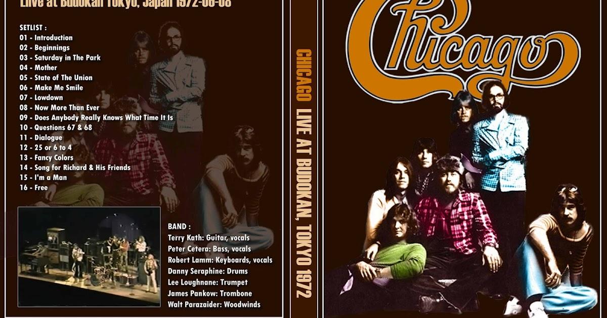 YOUDISCOLL: Chicago - Live at Budokan 1972