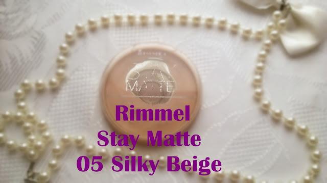Puder Rimmel Stay Matte 05 silky beige
