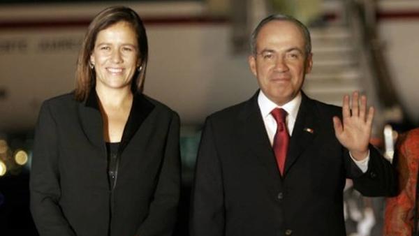 """""""México ya habló, Margarita Zavala será Presidenta de México en 2018"""", Felipe Calderón."""