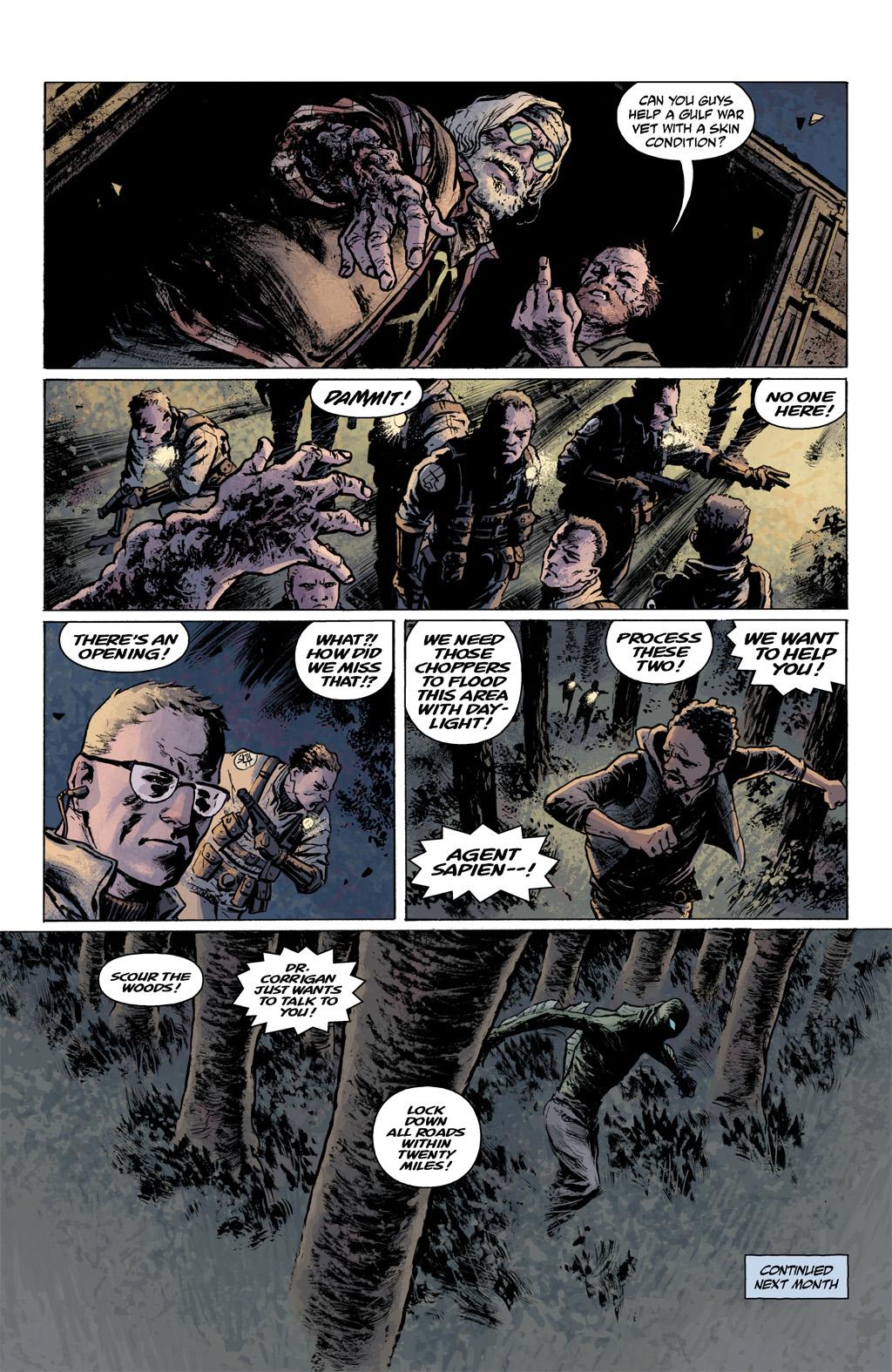 Read online Abe Sapien comic -  Issue #1 - 24