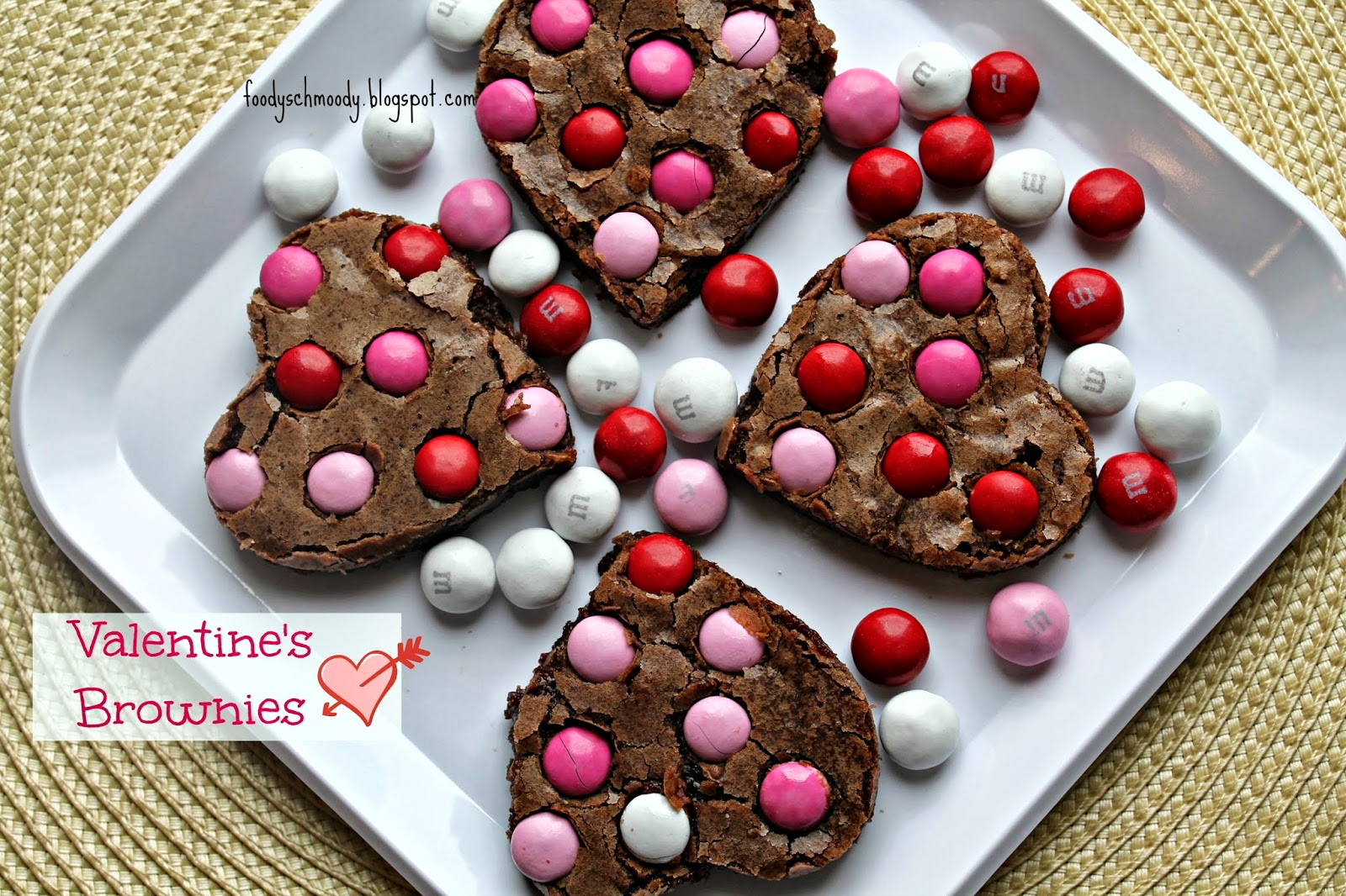 valentine's+brownies+3 - 10 Recipes for Great Valentine's Day
