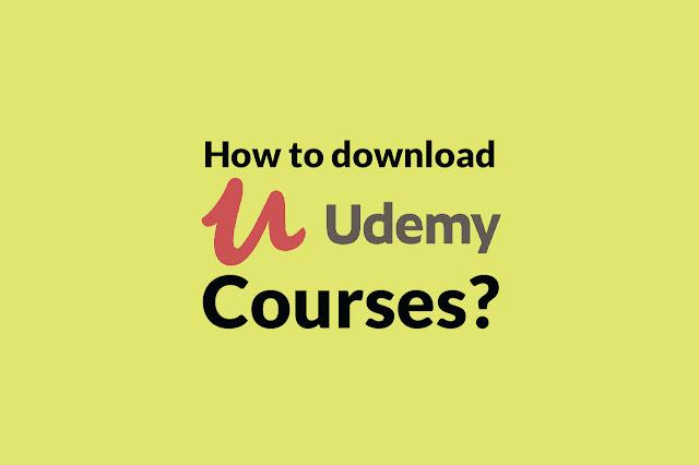 Làm thế nào để tải khóa học từ Udemy?