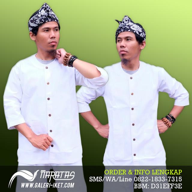 Baju Pangsi Putih