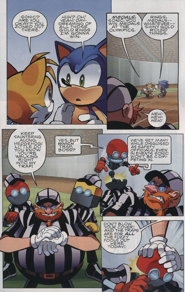Read online Sonic The Hedgehog comic -  Issue #242 - 5