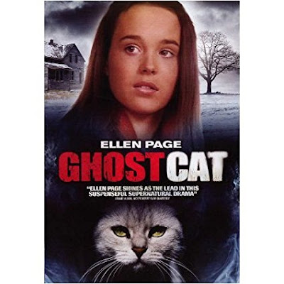 Ghost Cat, starring Ellen Page and Baretta the cat