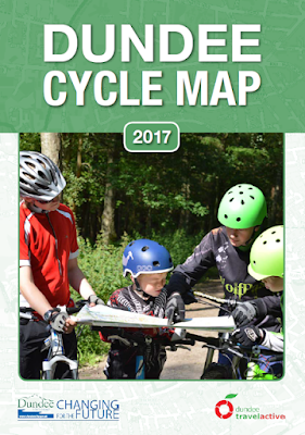 Dundee Cycle Map 2017