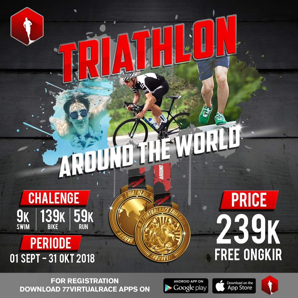 Triathlon Around the World • 2018