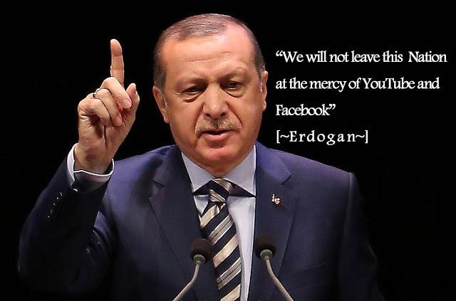 Hindari Fitnah dan Isu SARA, Erdogan Blokir WhatsApp, Facebook, YouTube dan Twitter di Turki