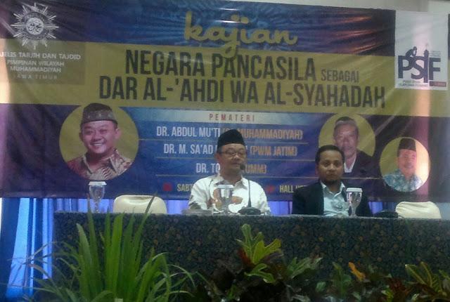 Kajian negara Pancasila sebagai dar al-'ahdi wa al-syahadah