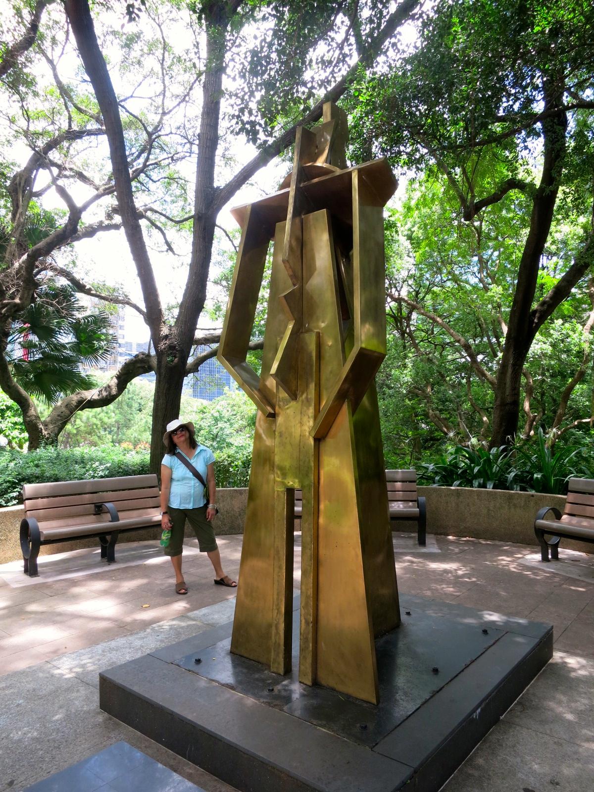 Another Asian Amble Sculpture Garden At Kowloon Park