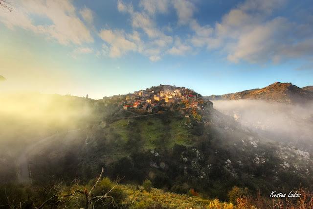 Αρκαδία,ομιχλη,χρωματα,βουνο,ταξιδια,Ελλαδα,τουρισμος,φωτό Κώστας Λαδάς