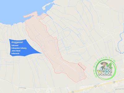 PETA : Desa Anggasari, Kecamatan Sukasari
